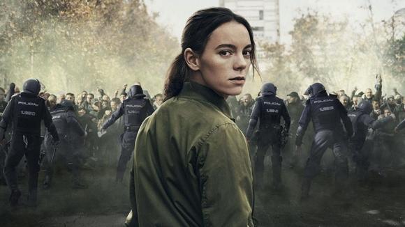 La policía antidisturbios