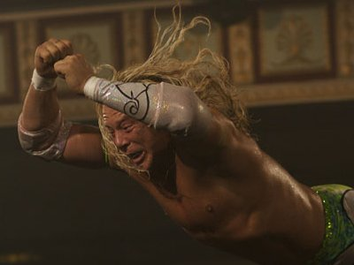 Mickey Rourke (Randy 'The Ram' Robinson) - The Wrestler